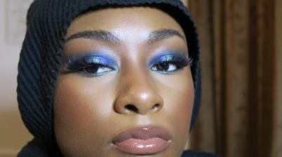 Blue Look Using Makeup By Tammi x Makeup Revolution Collection!