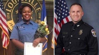 Louisville Police Department fires official engaged with Breonna Taylor's Death