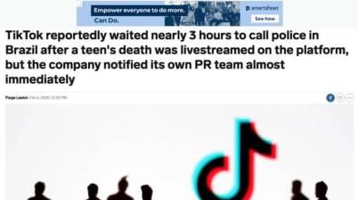 TikTok Reportedly Waited About 3 Hours To Call The Police In Brazil After A High Schooler's Death Was Live-Streamed