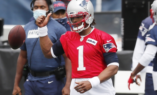 Patriots QB Cam Newton excused from practice